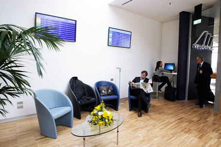 Business Lounges at Naples' airport