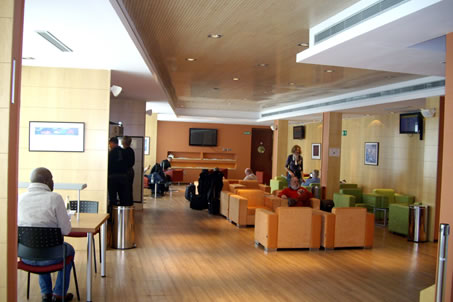 Business Lounge Valencia Airport